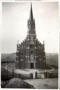 Kościół w Radoryżu. Lata 30te XX wieku. Z kolekcji Muzeum Henryka Sienkiewicza w Woli Okrzejskiej