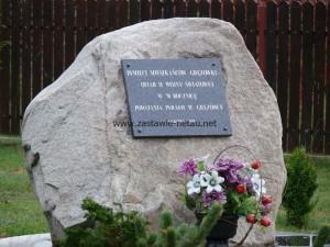 Pomnik w Gręzówce