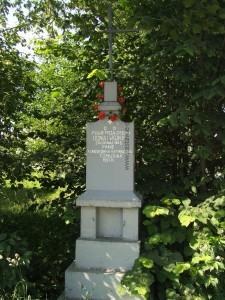 Krzyż wotywny w Osinach