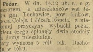 Głos lubelski. 22.1.1932