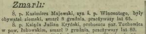 Głos warszawski 12.12.1908