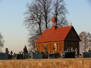 Kaplica cmentarna w Tuchowiczu (rok 2014)
