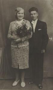 Władysław Fijał i Stanisława Trocińska