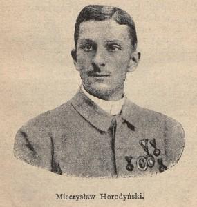 """Mieczysław Horodyński """"Cyklista"""" 1893"""