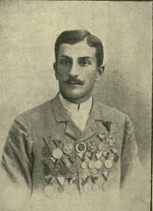 """Mieczysław Horodyński """"Cyklista"""" 1895"""