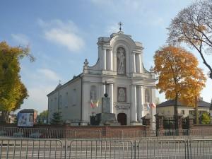 Kościół w Fajsławicach. Fot. Tomasz Zugaj źródło www.wikipedia.pl