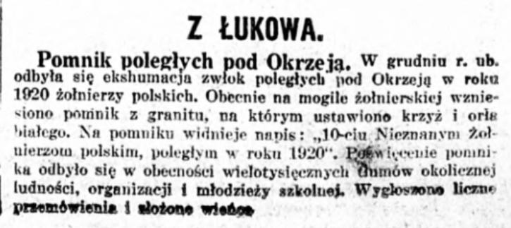 Kurjer Warszawski nr. 320/1933