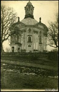 Kościół w Wołczynie - źródło www.kresy.pl