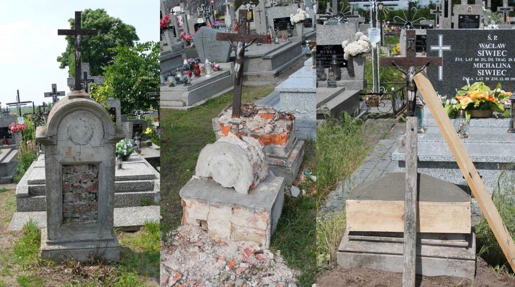 Bezimienny grób na cmentarzu w Tuchowiczu