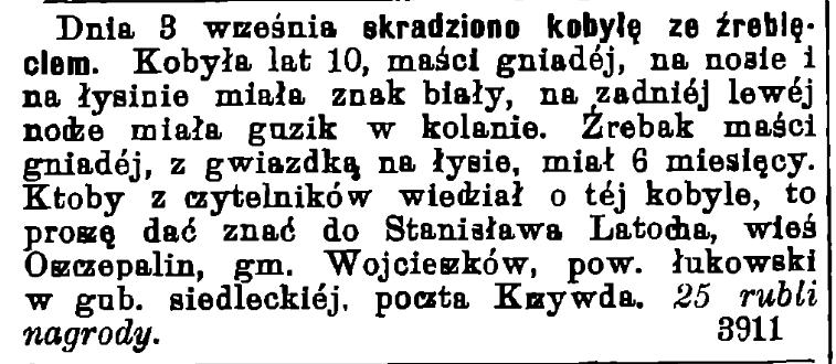 Gazeta Świąteczna 1442/1908