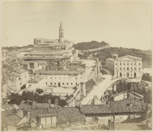 Panorama Rzymu II poł XIXw. www.pauart.pl