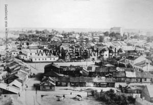 Panorama XIX wiecznego Łukowa. Z kolekcji Muzeum Henryka Sienkiewicza w Woli Okrzejskiej