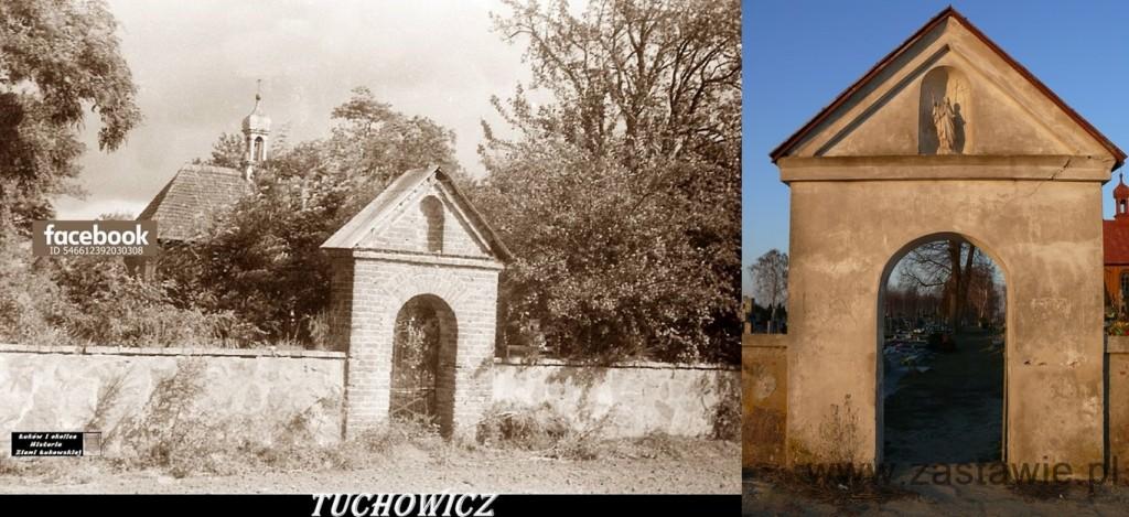 Boczna brama cmentarna